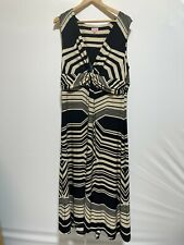 Phase Eight Ladies Stripe Abstract Wrap front Dress UK 20