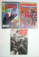 Captain America Variant Covers Lot of (3) Marvel Comics