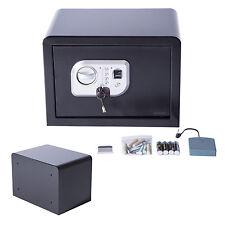 Homcom Fingerprint Electronic Safe Box Security Wall Mount Home Office Hotel