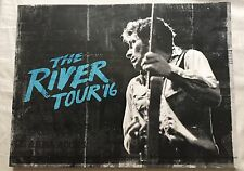 "BRUCE SPRINGSTEEN ""THE RIVER"" MAGNIFIQUE PROGRAMME / TOUR BOOK NEW TOURNEE 2016"