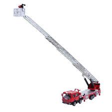1:50 Alloy Diecast Fire Engine Construction Equipment Model Home Decoration
