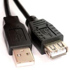 0.5 M prolunga USB per metà meter Nero un plug-una presa ░ Nickle ░ cabledup ®