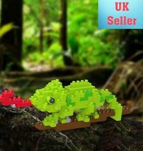 Mini Nano Micro Diamond Building Blocks Educational DIY Gift Toy. Chameleon. UK