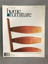 Taunton's Fine Woodworking's Home Furniture Magazine Summer 1995 Chair, No. 3