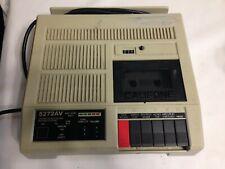 Califone 5272Av Cassette Player Recorder School Use with 7 Headphone Jacks!