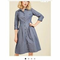 Modcloth Broadcast Coordinator Shirt Dress | 2X