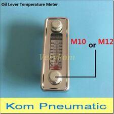 LS-3 LS-5 M10 M12 Thread Fluid Level Temperature Gauge Hydraulic Oil Lever Meter