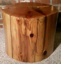 WESTERN RED CEDAR DRIFTWOOD TABLE LOG FURNITURE COFFEE TABLE  END TABLE LG8