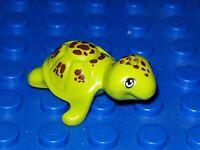 LEGO Schidkröte Turtel 11603 Lime hellgün Freinds City Piraten Tier Wasser