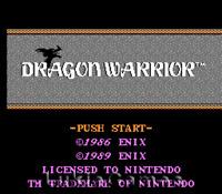Dragon Warrior - Classic Original NES Nintendo Game