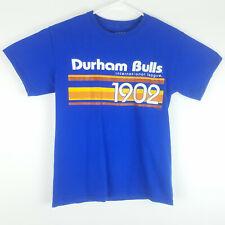 Durham Bulls Small T Shirt Stripe Gear For Sports International League 1902