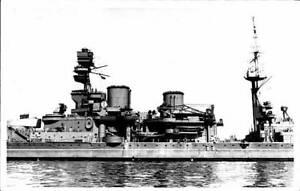 British Royal Navy Battleship HMS Repulse SHIPPING NAVAL OLD PHOTO