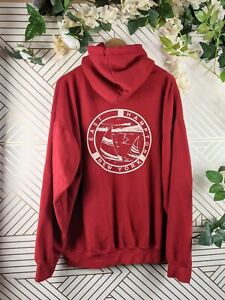 Brandy Melville Hamptons Red Hoodie Pullover Size S/M