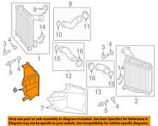 AUDI OEM 11-15 Q7 3.0L-V6 Intercooler-Air Intake Duct Hose Tube Right 4L0117336F