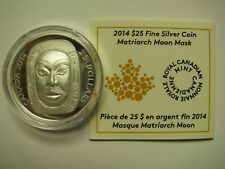 2014 Proof $25 Matriarch Moon Mask Ultra High Relief UHR COIN&COA ONLY .9999 sil