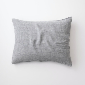 Schoolhouse Electric Linen Pillow Sham - SET OF TWO - Brand New - Gray