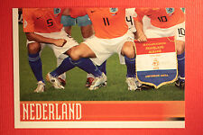 Panini EURO 2008 N. 257 SQUADRA NEDERLAND NEW With BLACK BACK TOPMINT !!!