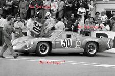 Jean-Claude Andruet & Henri aïeul Alpine A220/69 Le Mans 1969 Photographie 1