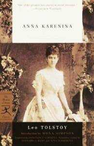 Anna Karenina (Modern Library Classics) - Paperback By Leo Tolstoy - GOOD