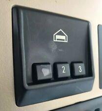 ✔️BMW E38 E39 E46 Homelink 3-Button Garage Door Opener Rolling Code light lit OE