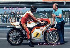 Barry Sheene Suzuki RG500 World Champion 1976 & 1977 Photograph 4
