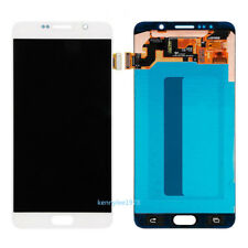 Para Samsung Galaxy Note 5 N920F N920C Pantalla Táctil LCD Display Blanco+cover