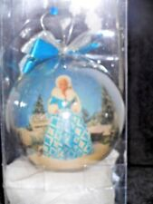 BARBIE MATTEL WINTER RENEISSANCE ORNAMENT 1996 with STAND - MINT/NEW IN BOX