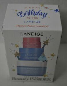 Sephora birthday 2021 Laneige Cream, Water Sleeping Mask, Lip Sleeping Mask NEW