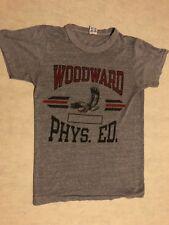 70's VINTAGE WOODWARD PHYS. ED. HIGH SCHOOL CHAMPION USA 50/50 SOFT THIN T-SHIRT