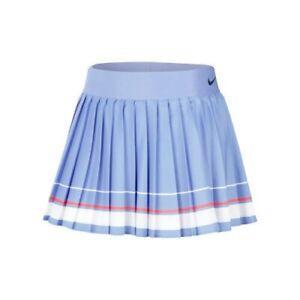Nike Maria Court Women's Tennis Skirt - Royal Pulse / White CI9386 478