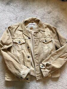 GUC Men's Vintage Tan Corduroy ABERCROMBIE Button FrontJacket Size Large