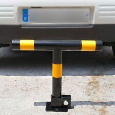 """Sbarra a """"T"""" dissuasore anti parcheggio sosta auto ribaltabile con serratura"""