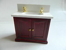 Single Item Miniature Bathroom Sinks for Dolls