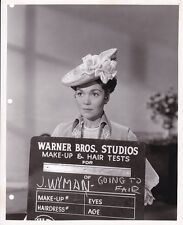 JANE WYMAN Make-up Test Portrait ORIGINAL Vintage THE STORY OF WILL ROGERS Photo