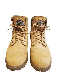 Timberland 1973 Expedition Men Ankle Boot Size 6.5 Tan Leather Nubuck Lace Up