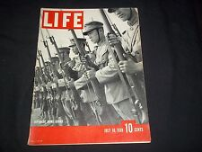 1939 JULY 10 LIFE MAGAZINE - JAPANESE HOME GUARD - BEAUTIFUL FRONT COVER- GG 210