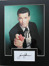 JAMES GARNER Signed 13x9 Photo Display MAVERICK & THE GREAT ESCAPE COA