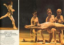 COUPURE de presse PHOTO CLIPPING  NOUREEV le plus grand danseur