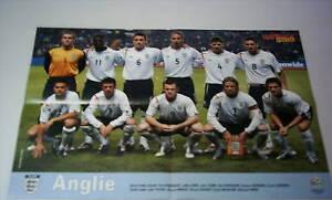Original Poster     ENGLAND     WM 2006 Telnehmer  //  59 x 42 cm  !!  SELTEN