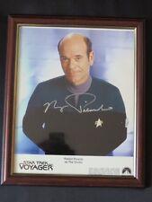 "STAR TREK VOYAGER Robert Picardo ""The Doctor "" SIGNED AUTOGRAPH Photograph"