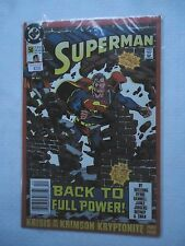 SUPERMAN #50 BACK TO FULL POWER DECEMBER 1990 NEAR MINT CONDITION