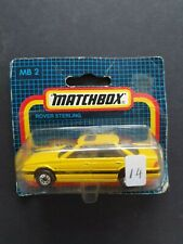 MATCHBOX ROVER STERLING #  MB2 RARE YELLOW BODY SEALED BLISTER