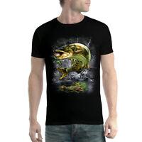 Muskie Fish Fishing Mens T-shirt XS-5XL