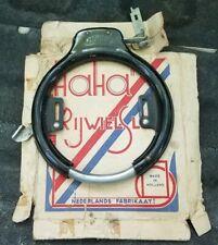 Antique European HaHa Bicycle Lock With Original Box