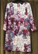 H&M Tunic Dress 8 10 36 Cosmic Floral Splash Boho Vintage Indie 🌺