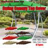 Outdoor Patio Swing Canopy Porch Garden Bench Hammock Top Cover   **%