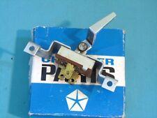NOS Mopar 1965-66 Dodge Polara Heater Switch