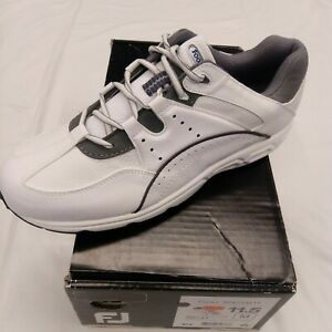 FootJoy Mens Golf Specialty White/Silver Style 56734 Spikeless Size 11.5