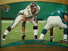 NFL 267 Tony Brackens Jacksonville Jaguars Topps 1998