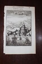 ✒ 1683 MANESSON MALLET chateau des sept tours CONSTANTINOPLE Istanbul TURQUIE